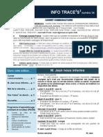 Info-traceess Numéro 34, le 11 mai 2015