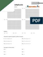 Cuaderno de Ejercicios de Matemáticas de Primer Año de Nivel Secundaria o Media 4