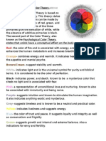 The Psychological Color Theory Board Work
