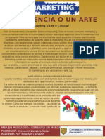 El Marketing Arte o Ciencia. Roselyn Carvallo