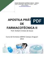 Apostila Prática Farmacotécnica II 2012-01