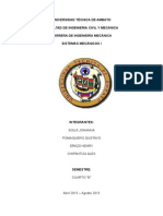 Informe .. sistemas mecánicos