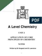 Chemistry Unit 2 Notes