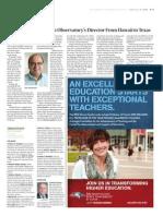 Chronicle of Higher Education Ann Williams