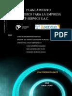 Plan Estratégico de Una Empresa de TI