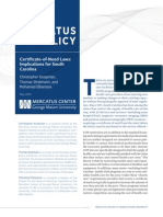 Certificate of Need Laws