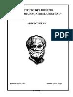 Monografía Aristóteles
