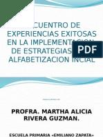 Encuentro de Experiencias Exitosas en La Implementacion De