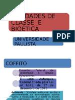 Entidades de Classe e Biou00E9tica