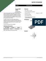 data sheet HGTG11N120CND