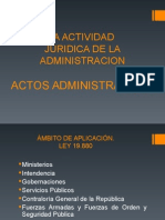 Actos Administrativos 2014