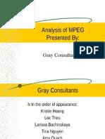 Mpeg Compression Scheme