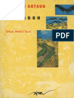 Antonin Artaud-Van Gogh Toplumun İntihar Ettirdiği