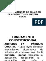 Medios Alternos Materia Penal Iztacalco