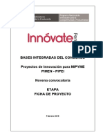 Bases Integradas de Concurso 9na Convocatoria PIMEN PIPEI. Feb-2015