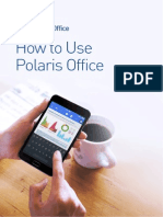 How to Use Polaris Office
