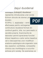 Sondajul Duodenal