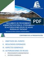 2. Autorizaciones Reuso de Aguas Residuales Tratadas