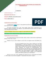 Resumo das normas - ABNT