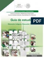 Guía de estudio examen de oposición 2015