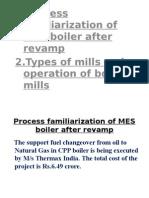 Revamp of CPP Boiler