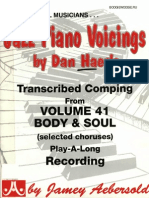 Jazz Piano Voicings Vol. 41 - Body and Soul_BOOGIEWOOGIE.ru