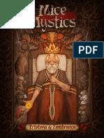 Jogo de Tabuleiro Mice and Mystics Amostra