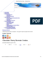 Chocolate Chewy Brownie Cookies — Shockingly Delicious