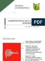 Competitividad de La Cadena Agroindustrial