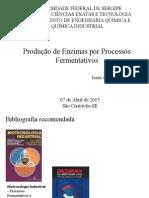 Produção de Enzimas Por Processos Fermentativos