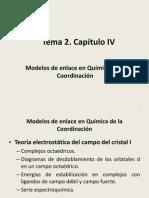Tema 2. Capitulo IV. TCC Octaedrico 2014