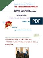 Sesion 4. El Auditor y Sus Actividades de Control
