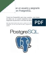 Cómo crear un usuario y asignarle permisos en PostgreSQL.pdf