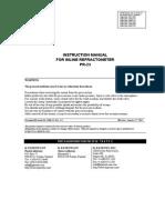 Manual PR 023