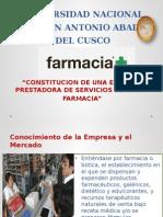 Constitucion de una Farmacia