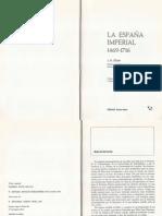 La Economía Castellana. J. Elliott