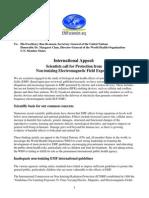 International EMF Scientist Appeal 2015 Signed 5-10-2015