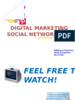 Digital Marketing and social networking in business environtment