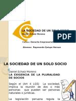L04 La Sociedad de Un Solo Socio