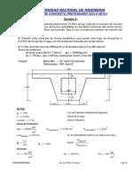 Curso de Concreto Postensado Mathcad ejemplo 2