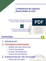 Simulador Robotica Movil EJS