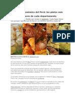 Mapa Gastronómico Del Perú