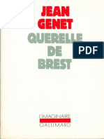 Jean Genet Querelle de Brest