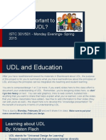 what is important to know about udl