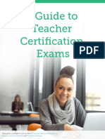 A Guide to Teacher Certification Exams
