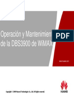 4 - OXB211110 DBS3900 WiMAX Operation and Maintenance ISSUE1.00 Manual SPA