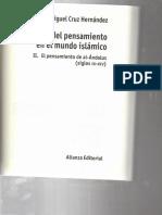 Miguel Cruz Hernandez - Sobre Averroes en Hist Del Pensam en El Mundo Islamico(1)