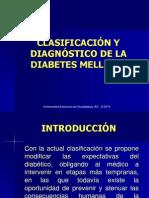 Dg y clasificación de DM
