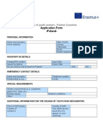 Application Form Poland