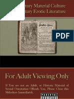 Romance & Sex - 18th Century Erotic Literature